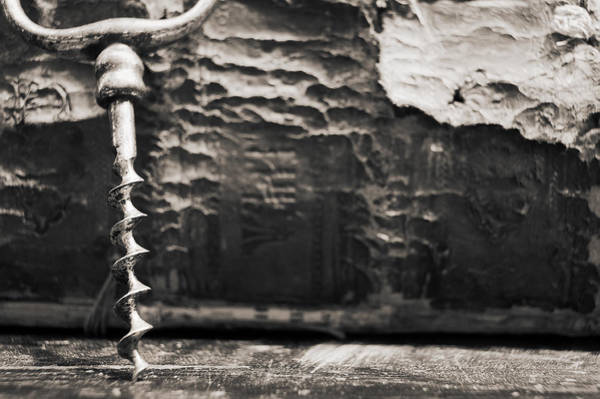 Photograph - Antique Corkscrew. by Andrey  Godyaykin