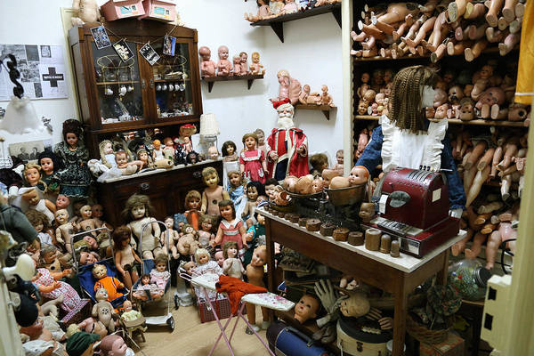 Doll Parts Photograph - Antique Dolls 1 by Andrew Fare
