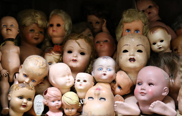 Doll Parts Photograph - Antique Dolls 2 by Andrew Fare