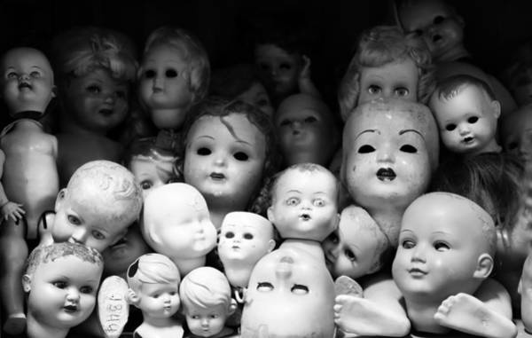 Doll Parts Photograph - Antique Dolls 2b by Andrew Fare