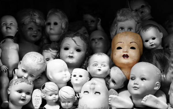 Doll Parts Photograph - Antique Dolls 2c by Andrew Fare