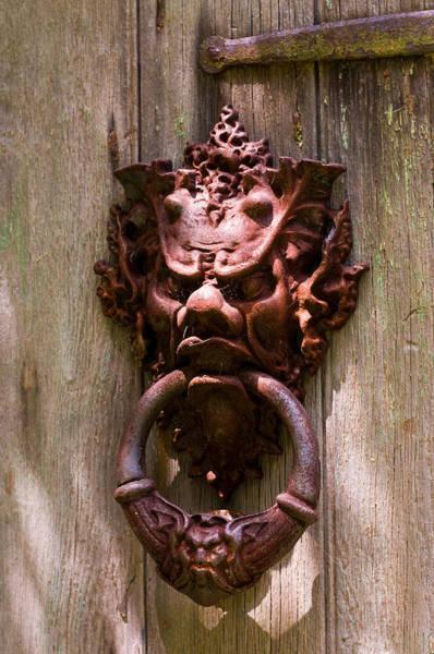 Photograph - Antique Door Knocker by Louis Dallara