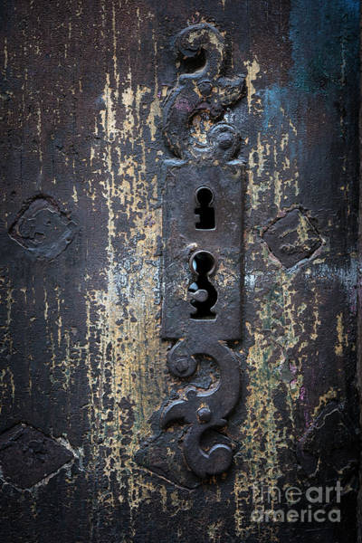 Photograph - Antique Door Lock Detail by Elena Elisseeva
