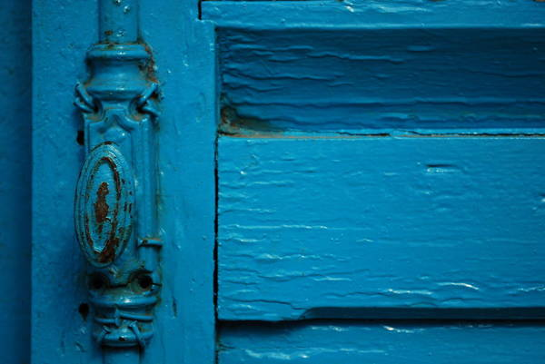 Photograph - Antique Doorknob by Emily Page