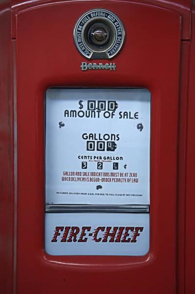 Wall Art - Photograph - Antique Gas Pump - Texaco Fire Chief by Matt Plyler