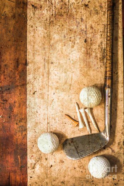 Grimy Wall Art - Photograph - Antique Golfer Fine Art by Jorgo Photography - Wall Art Gallery