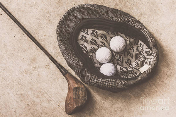 Photograph - Antique Golfer Still Life by Jorgo Photography - Wall Art Gallery