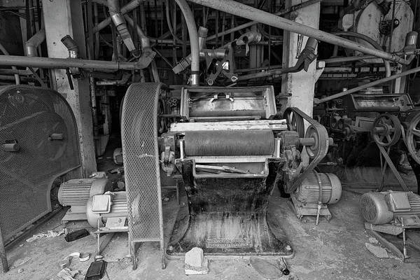 Photograph - Antique Grain Equipment by Dave Dilli