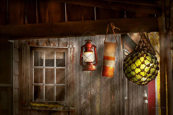 Photograph - Antique - Hanging Around by Mike Savad