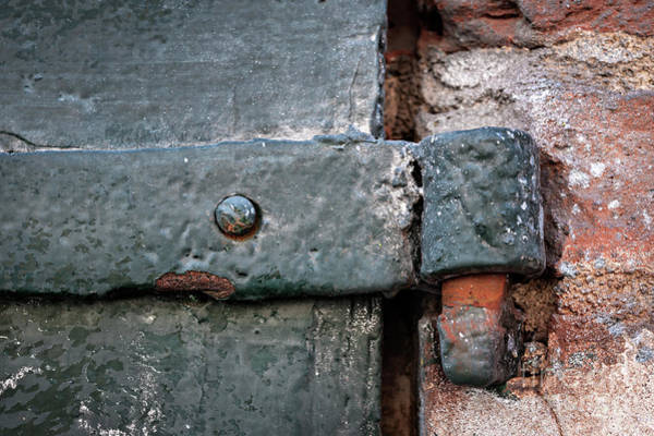 Photograph - Antique Hinge by Elena Elisseeva