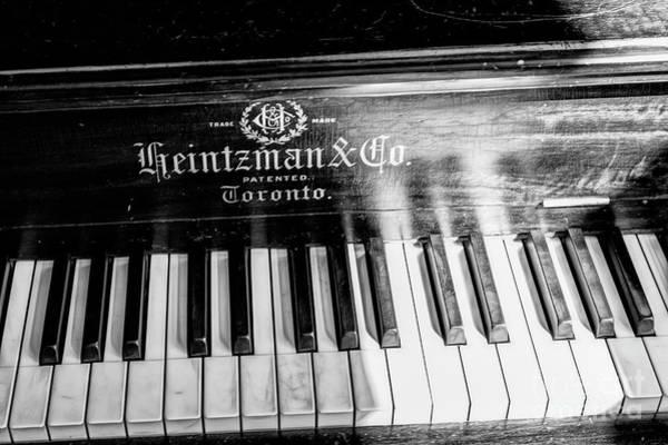 Photograph - Antique Keys by Brad Allen Fine Art