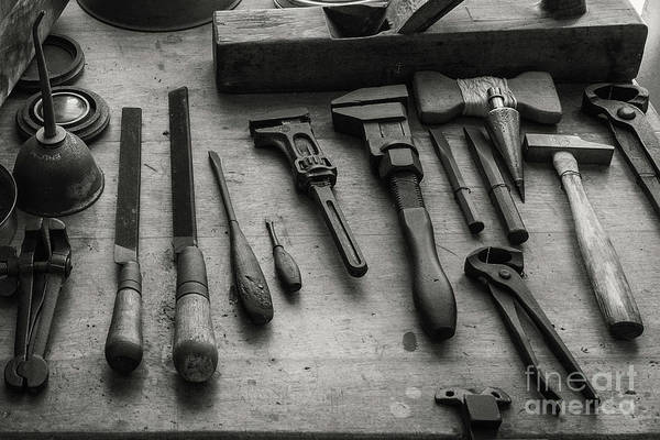 Photograph - Antique Lighthouse Tools by Paul Quinn