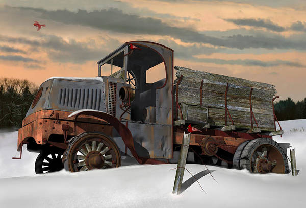 Wall Art - Digital Art - Antique Mack Ac by Stuart Swartz