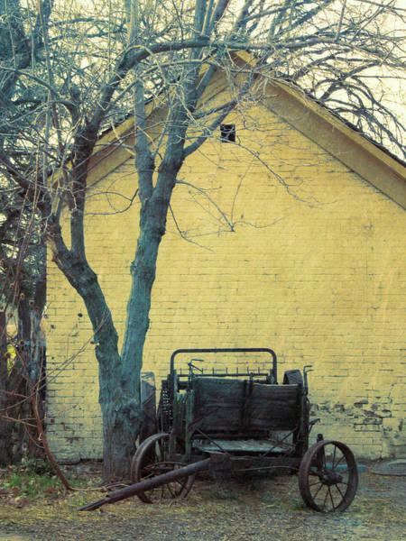 Photograph - Antique Manure Spreader At Wheeler Farm by David King