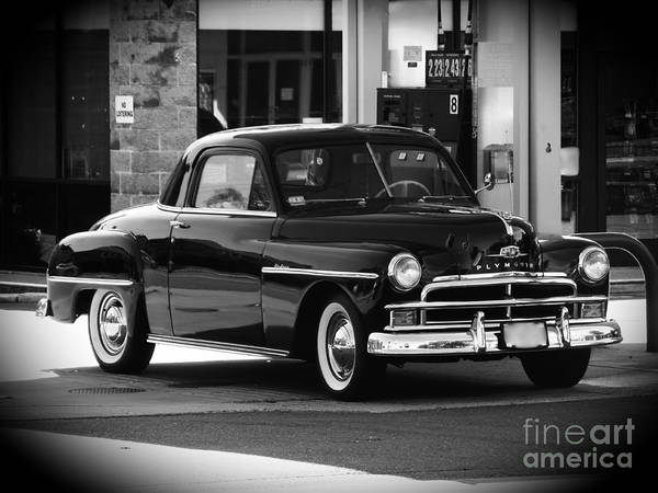 Photograph - Antique Plymouth Coupe by Lita Kelley