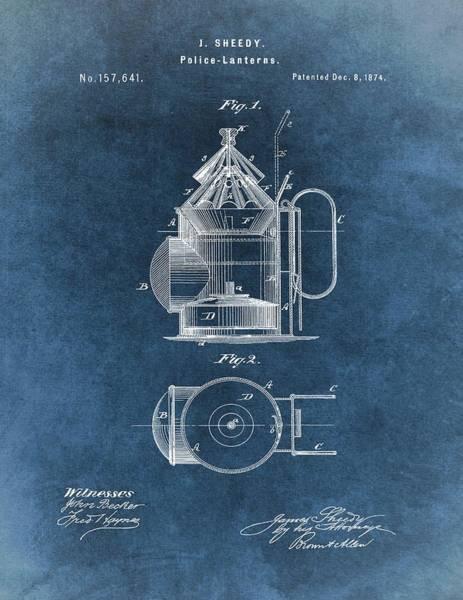 - Antique Police Lantern Illustration by Dan Sproul