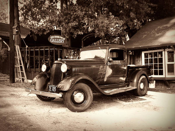 Pick Up Truck Photograph - Antique Road Warrior - 1935 Dodge by Glenn McCarthy Art and Photography