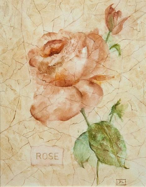Painting - Antique Rose by Debbie Lewis