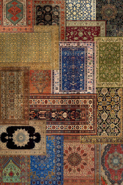 Photograph - Antique Rugs by Andrew Fare