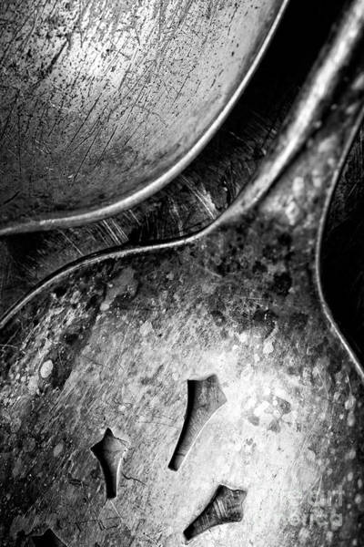 Wall Art - Photograph - Antique Silverware by Edward Fielding