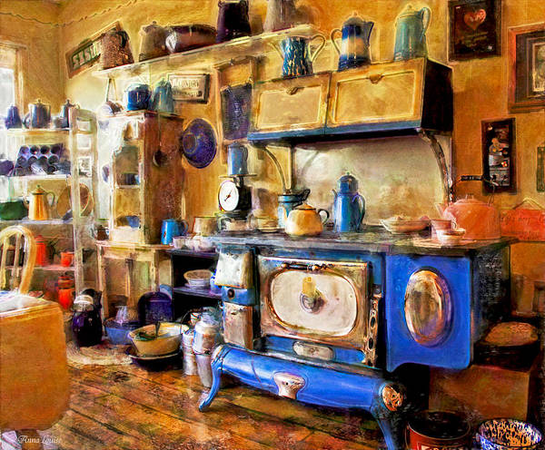 Photograph - Antique Store Kitchen by Anna Louise
