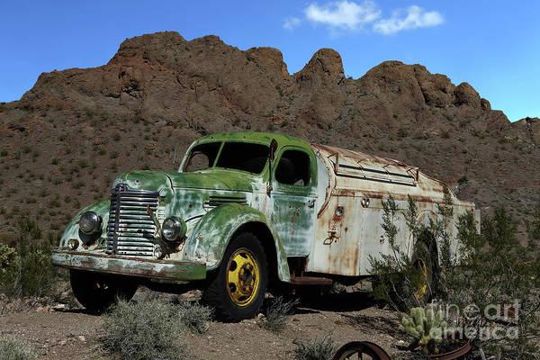 Wall Art - Photograph - Antique Tanker Truck by Rick Mann