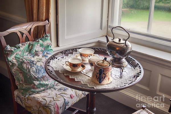Photograph - Antique Tea Set  by Ariadna De Raadt