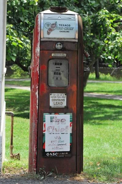 Tulpehocken Creek Photograph - Antique Texaco Fire Chief Gasoline Pump by Michelle DiGuardi