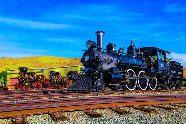 Wall Art - Photograph - Antique Trains by Garry Gay