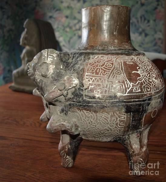 Photograph - Antique Vase by Philip Bracco