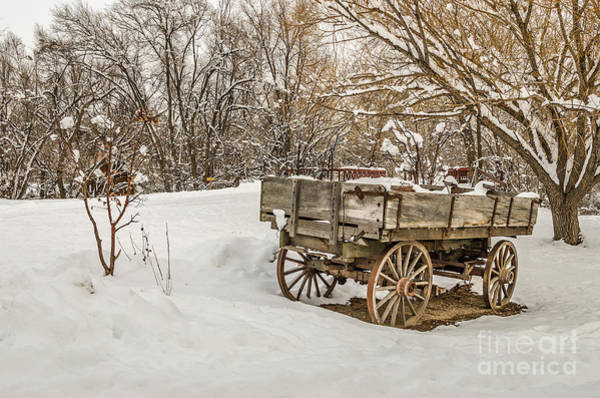 Photograph - Antique Wagon In Rural America by Sue Smith