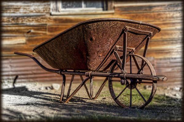 Wall Art - Photograph - Antique Wheelbarrow by Kelley King