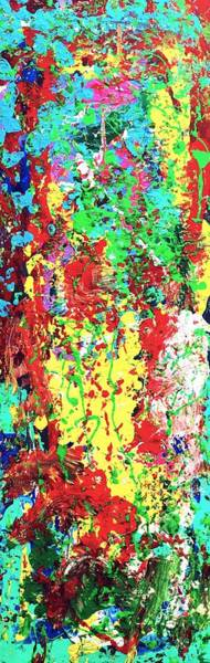 Wall Art - Painting - Antisocial by Shahrzad Khosravi