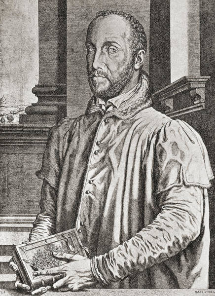 Wall Art - Drawing - Antoine Perrenot De Granvelle, 1517 To by Vintage Design Pics
