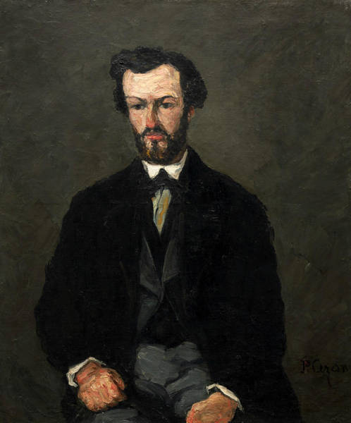 Painting - Antony Valabregue by Paul Cezanne