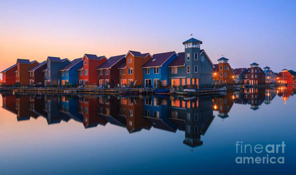 Meijer Wall Art - Photograph - Any Colour You Like - Reitdiephaven - Netherlands by Henk Meijer Photography