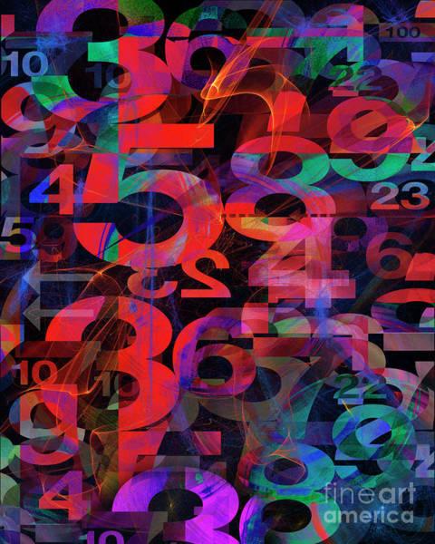 Digital Art - Any Number You Like by Edmund Nagele