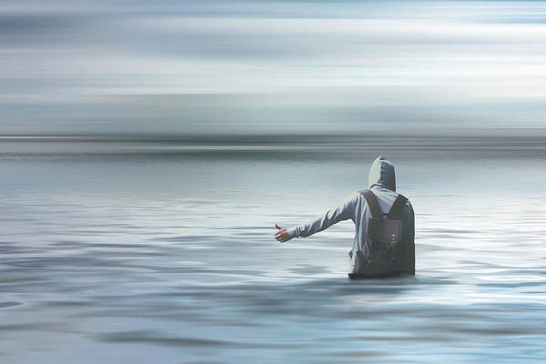 Escape Digital Art - Anywhere by Jacky Gerritsen