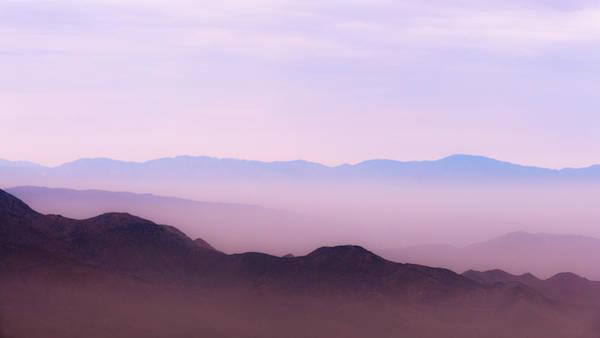 Magenta Photograph - Anza-borrego Blue Ridge by Joseph Smith