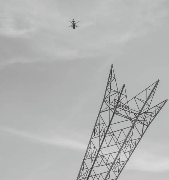 Wall Art - Photograph - Apache Attack by Martin Newman