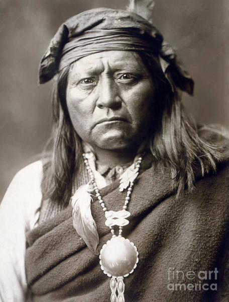 Photograph - Apache Man, C1903 by Granger