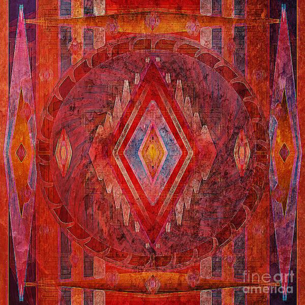 Digital Art - Apache Wind Remix 2015 by Kathryn Strick