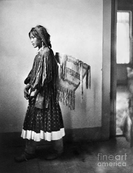 Wall Art - Photograph - Apache Woman, C1902 by Granger