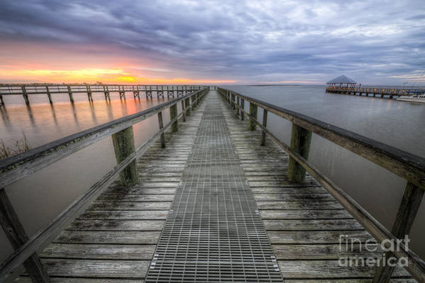 Wall Art - Photograph - Apalachicola Boardwalk by Twenty Two North Photography
