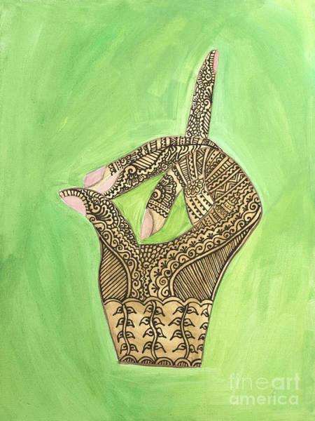 Entangled Painting - Apana Vayu by Jennifer Duque