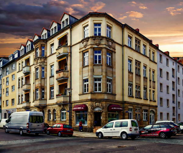 Photograph - Apartment Building Facade by Anthony Dezenzio