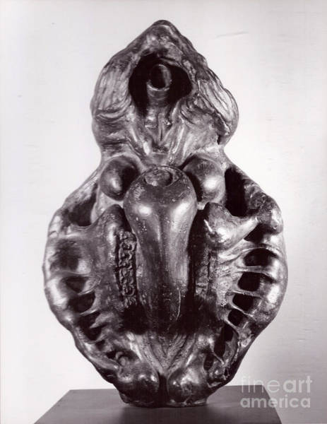 Sculpture - Ape Mother IIi by Robert F Battles