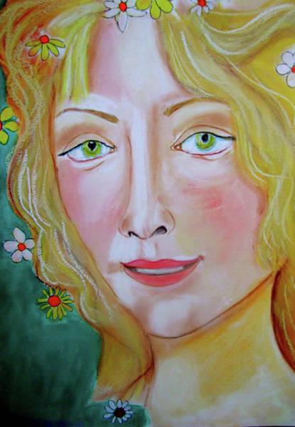 Primavera Painting - Aphrodite by Rusty Gladdish