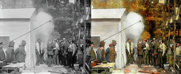 Photograph - Apocalypse - Apocalypse Party 1923 - Side By Side by Mike Savad