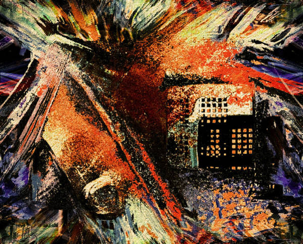 Town Square Mixed Media - Apocalypse by Natalie Holland